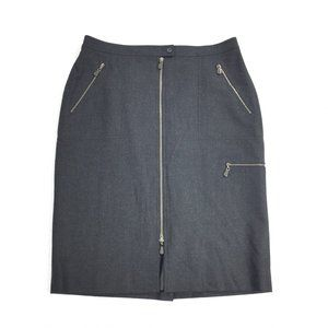 Doncaster | Luxury Full Zip Front Pencil Skirt